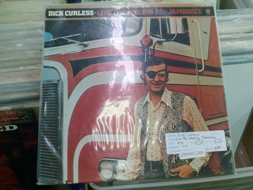 Dick Curless recorded 22 country chart hits in the late 60s and early 70s.